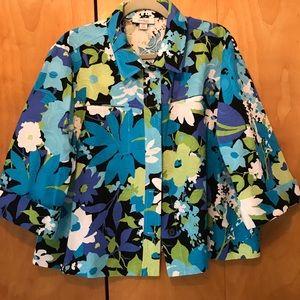 Stunning women's floral blazer